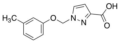 1-[(3-Methylphenoxy)methyl]-1H-pyrazole-3-carboxylic Acid