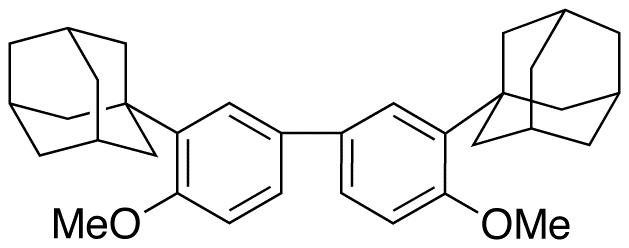 2,2'-Bis-(1-adamantyl)-4,4'-dimethoxybiphenyl