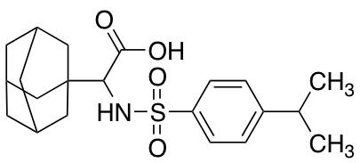 2-(Adamantan-1-yl)-2-[4-(propan-2-yl)benzenesulfonamido]acetic Acid