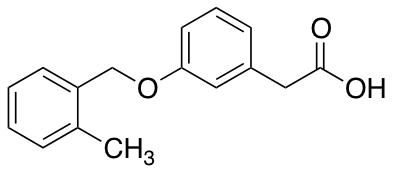 2-{3-[(2-Methylphenyl)methoxy]phenyl}acetic Acid