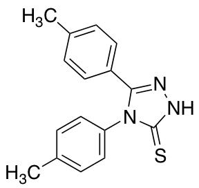 Bis(4-methylphenyl)-4H-1,2,4-triazole-3-thiol