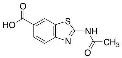 2-Acetamido-1,3-benzothiazole-6-carboxylic Acid