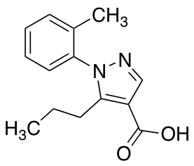 1-(2-Methylphenyl)-5-propyl-1H-pyrazole-4-carboxylic Acid