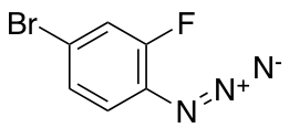 1-Azido-4-bromo-2-fluorobenzene