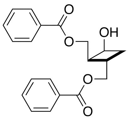 (1S,2S,3S)-2,3-Bis(benzoyloxymethyl)cyclobutanol