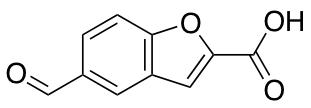 5-Formyl-1-benzofuran-2-carboxylic Acid