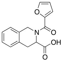 2-(Furan-2-carbonyl)-1,2,3,4-tetrahydroisoquinoline-3-carboxylic Acid