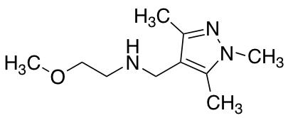 (2-Methoxyethyl)[(trimethyl-1H-pyrazol-4-yl)methyl]amine
