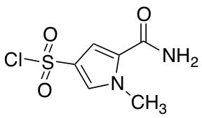 5-Carbamoyl-1-methyl-1H-pyrrole-3-sulfonyl Chloride