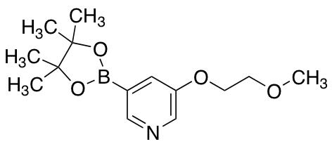 3-(2-Methoxyethoxy)-5-(4,4,5,5-tetramethyl-1,3,2-dioxaborolan-2-yl)pyridine