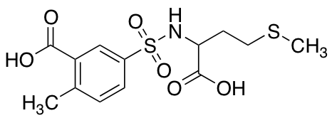 5-{[1-Carboxy-3-(methylsulfanyl)propyl]sulfamoyl}-2-methylbenzoic Acid