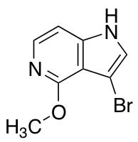 3-Bromo-4-methoxy-1H-pyrrolo[3,2-c]pyridine
