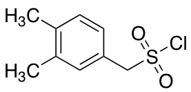 (3,4-Dimethylphenyl)methanesulfonyl Chloride