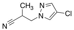 3-(4-Chloro-1H-pyrazol-1-yl)-2-methylpropanenitrile
