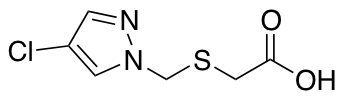 {[(4-Chloro-1H-pyrazol-1-yl)methyl]thio}acetic Acid