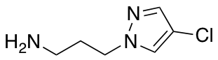 [3-(4-Chloro-1H-pyrazol-1-yl)propyl]amine