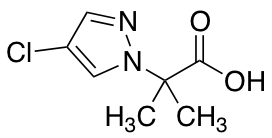 2-(4-Chloro-1H-pyrazol-1-yl)-2-methylpropanoic Acid
