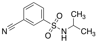 3-Cyano-N-isopropylbenzenesulfonamide