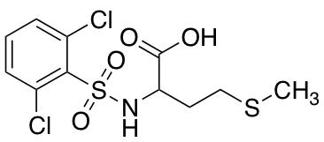 ((2,6-Dichlorophenyl)sulfonyl)methionine