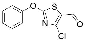 4-Chloro-2-phenoxy-1,3-thiazole-5-carbaldehyde