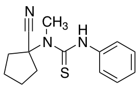 3-(1-Cyanocyclopentyl)-3-methyl-1-phenylthiourea