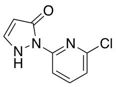 2-(6-Chloro-2-pyridinyl)-2,4-dihydro-3H-pyrazol-3-one