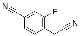 4-(Cyanomethyl)-3-fluorobenzonitrile