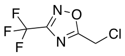 5-(Chloromethyl)-3-(trifluoromethyl)-1,2,4-oxadiazole