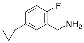 (5-Cyclopropyl-2-fluorophenyl)methanamine