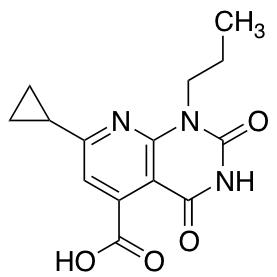 7-Cyclopropyl-2,4-dioxo-1-propyl-1H,2H,3H,4H-pyrido[2,3-d]pyrimidine-5-carboxylic Acid