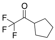1-Cyclopentyl-2,2,2-trifluoroethan-1-one
