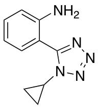 2-(1-Cyclopropyl-1H-1,2,3,4-tetrazol-5-yl)aniline