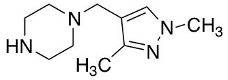 1-[(1,3-Dimethyl-1H-pyrazol-4-yl)methyl]piperazine