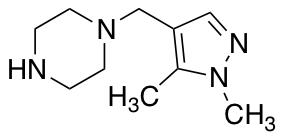 1-[(1,5-Dimethyl-1H-pyrazol-4-yl)methyl]piperazine