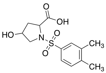 1-(3,4-Dimethylbenzenesulfonyl)-4-hydroxypyrrolidine-2-carboxylic Acid