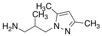 3-(3,5-Dimethyl-1H-pyrazol-1-yl)-2-methylpropan-1-amine