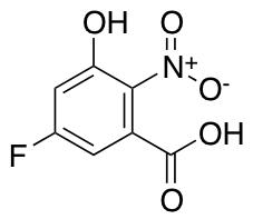 5-Fluoro-3-hydroxy-2-nitrobenzoic Acid