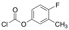 4-Fluoro-3-methylphenyl Chloroformate