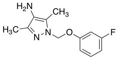 1-[(3-Fluorophenoxy)methyl]-3,5-dimethyl-1H-pyrazol-4-amine