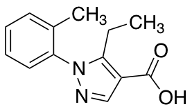 5-Ethyl-1-(2-methylphenyl)-1H-pyrazole-4-carboxylic Acid