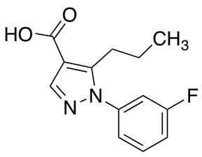 1-(3-Fluorophenyl)-5-propyl-1H-pyrazole-4-carboxylic Acid