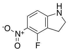 4-Fluoro-5-nitro-2,3-dihydro-1H-indole