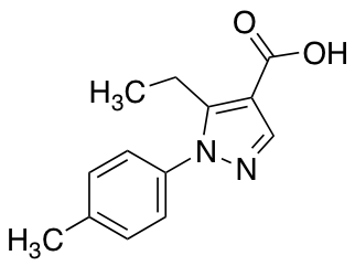 5-Ethyl-1-(4-methylphenyl)-1H-pyrazole-4-carboxylic Acid