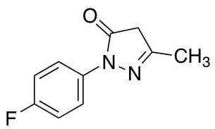 1-(4-Fluorophenyl)-3-methyl-4,5-dihydro-1H-pyrazol-5-one