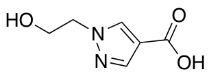 1-(2-Hydroxyethyl)-1H-pyrazole-4-carboxylic Acid