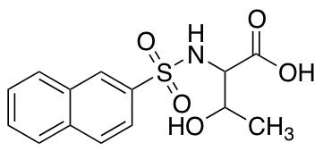 3-Hydroxy-2-(naphthalene-2-sulfonamido)butanoic Acid