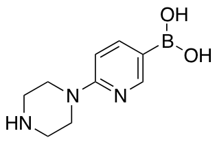 (6-(Piperazin-1-yl)pyridin-3-yl)boronic Acid