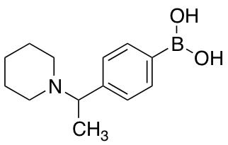 [4-(1-Piperidin-1-ylethyl)phenyl]boronic Acid