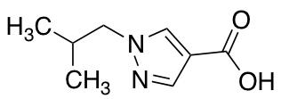 1-Isobutyl-1H-pyrazole-4-carboxylic Acid