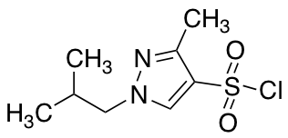 1-Isobutyl-3-methyl-1H-pyrazole-4-sulfonyl Chloride